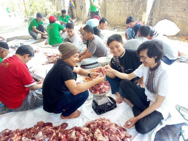 Pelaksanaan Qurban STEMBI 1439 Hijriyah Bersama Masyarakat