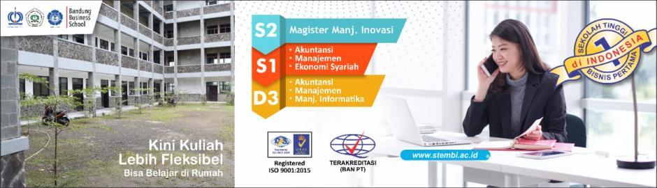 Penerimaan Mahasiswa Baru STIE STEMBI - Bandung Business School