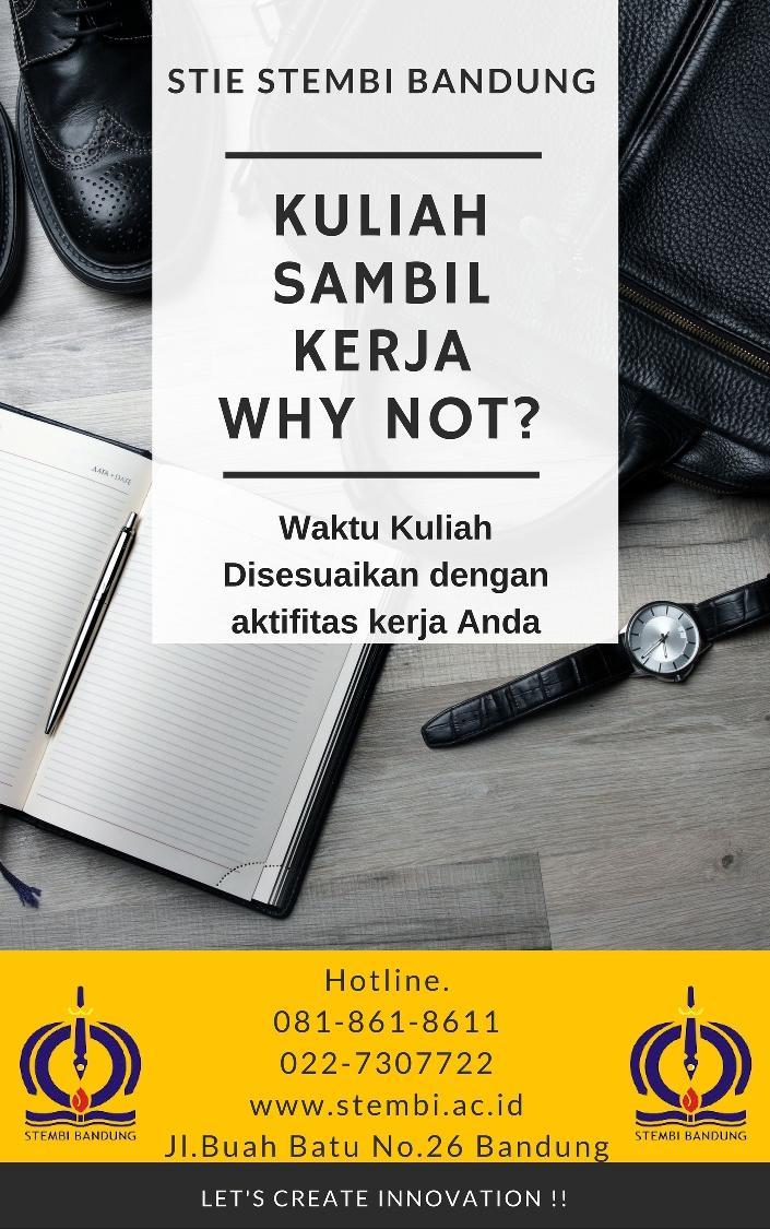 Kuliah Sambil Kerja? Why Not .!